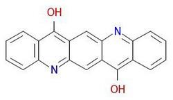 Pigment-ibolya-19-Molecular-Structure